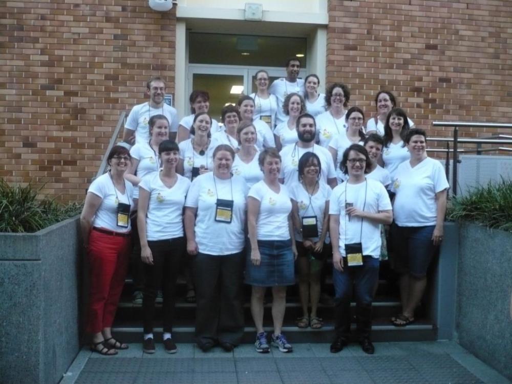 The NLS6 crew