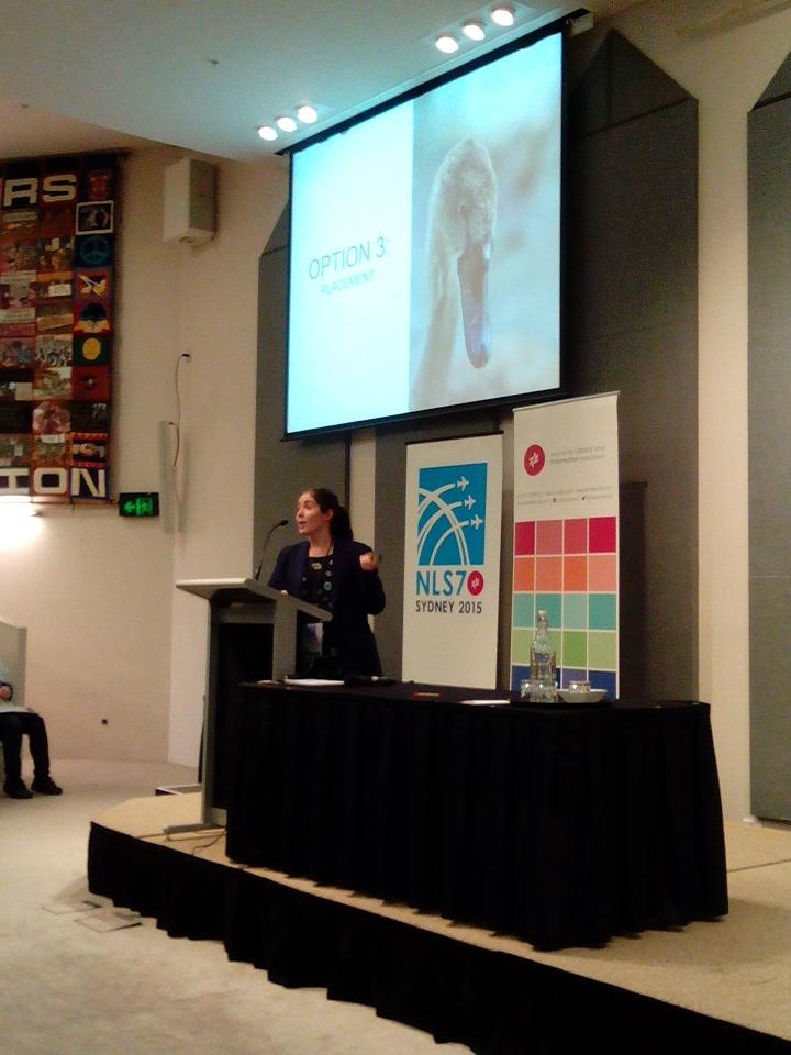 Rebecca Dale's presentation