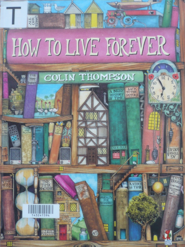 how to live forever by colin tompson difficult words